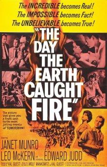 постер к фильму День, когда загорелась Земля