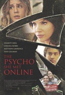 постер к фильму Психопатка, с которой она познакомилась в сети