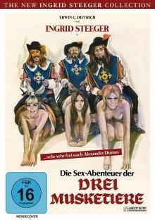постер к фильму Сексуальные приключения трех мушкетеров