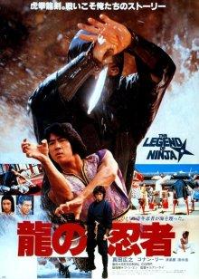 постер к фильму Ниндзя в логове дракона