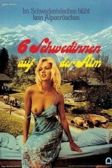 постер к фильму Шесть шведок в Альпах