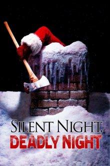 постер к фильму Тихая ночь, смертельная ночь