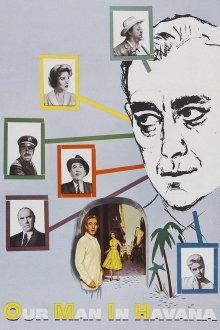 постер к фильму Наш человек в Гаване