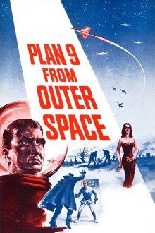постер к фильму План 9 из открытого космоса