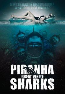 постер к фильму Акулы-пираньи