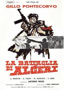 постер к фильму Битва за Алжир