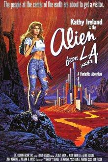 постер к фильму Инопланетянка из Лос-Анджелеса
