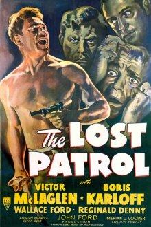 постер к фильму Потерянный патруль