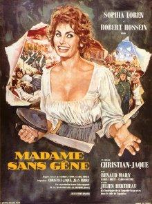 постер к фильму Мадам Сан-Жен