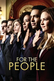 Постер сериала Для людей / For The People